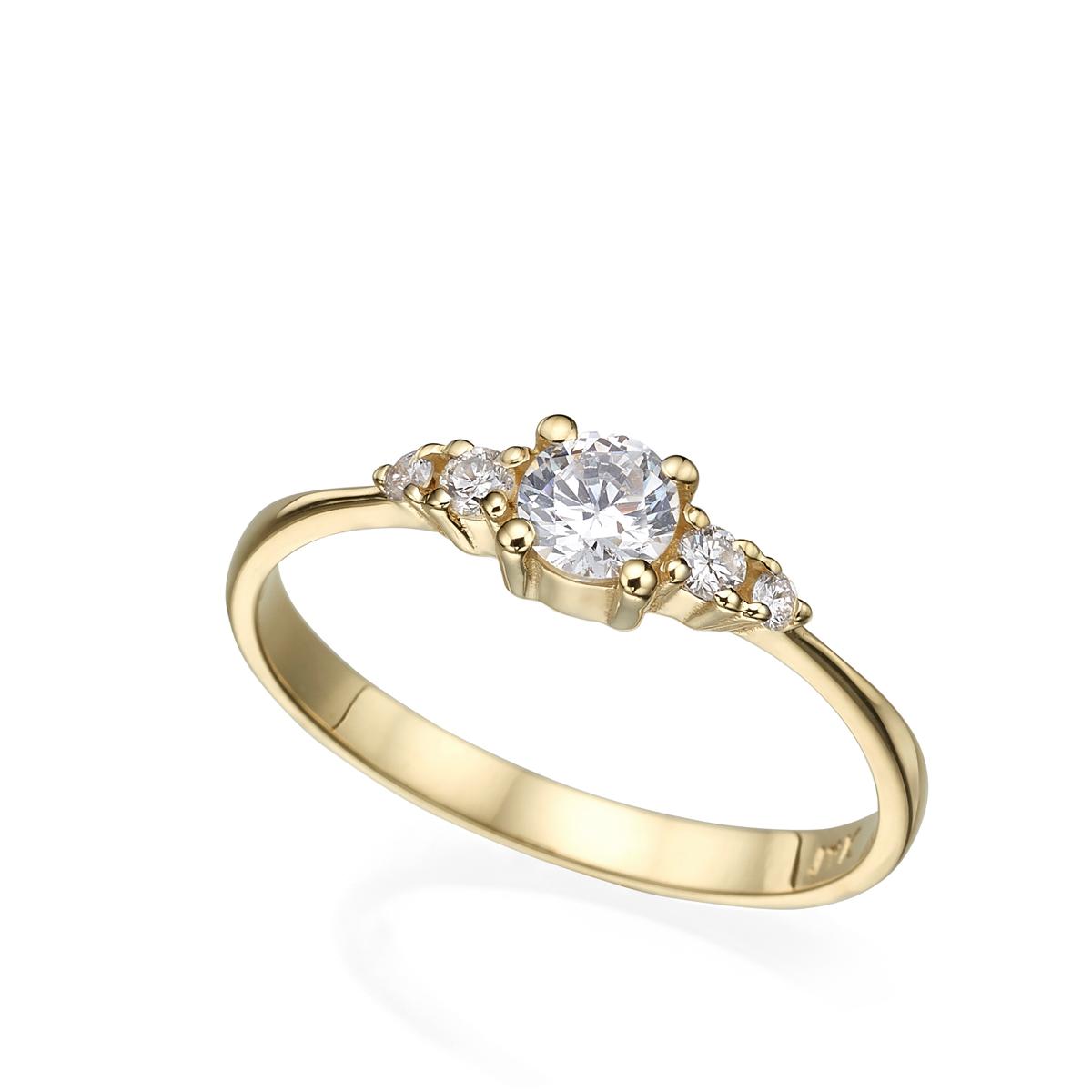 טבעת אירוסין עדינה ומיוחדת