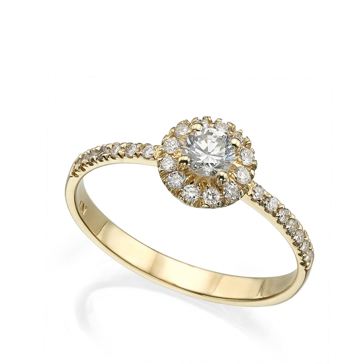 טבעת אירוסין מרשימה